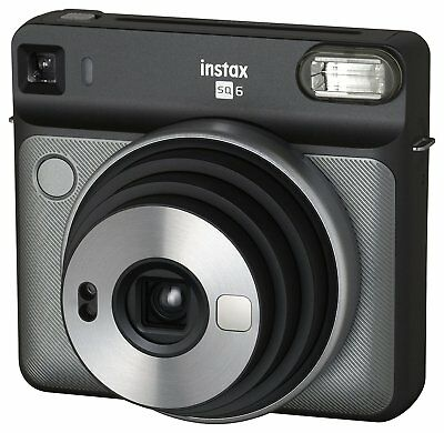 Fujifilm instax SQUARE SQ6 Instant Film Camera -Graphite Gray
