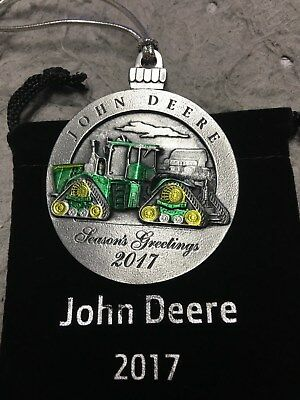 John Deere 2017 Collectible Ornament, LP68513, 22nd in Series