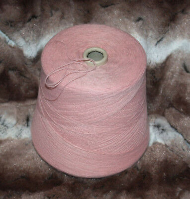 1 Cone Hand or Machine Knitting Acrylic in Dusty Pink 2/28 Total weight 550g