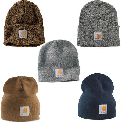 dfd497b554bc1 Carhartt Men's Acrylic Knit Stocking Cap Hat Beanie NEW 5 Colors to Choose  From