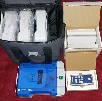 4 Prestan Professional Cpr Aed Trainer / Trainers & 4 Remote Controls - New