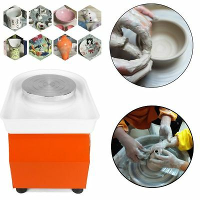 25CM 350W Electric Pottery Wheel Machine For Ceramic Work Clay Art Craft 220V DE
