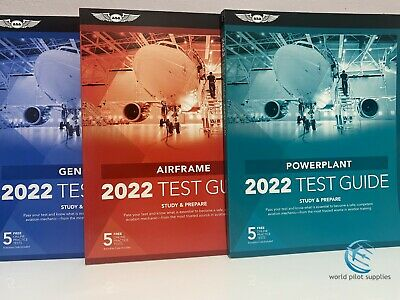 Just Arrived! 2019 AMT TEST GUIDE BUNDLE by ASA GENERAL, AIRFRAME & POWERPLANT