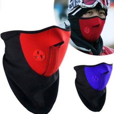 Mens Winter Anti Wind Fleece Mask Cycling Riding Running Keeping Warm Face Cover