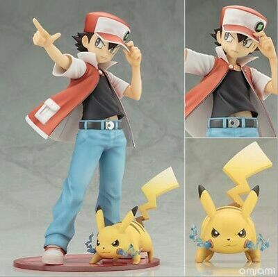 FIGURINES 2 pcs/ensemble de Bande Dessinée Pikachu et sacha, pokemon