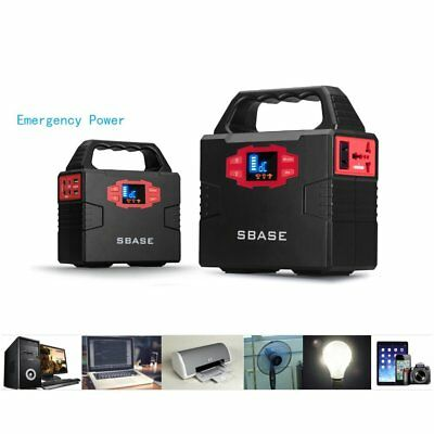 Portable Power Station Emergency Power 60000mA with LED Indicators & Handle FB