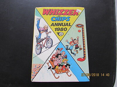 WHIZZER and CHIPS     ANNUAL  1980  VERY GOOD FOR AGE