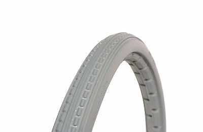"""Greentyre 18"""" X 1 3/8""""  (37-400) Solid Mobility Wheelchair Tyre In Grey"""