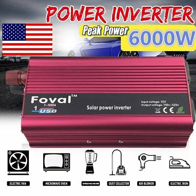 P1500c Car Power Inverter Dc12v To Ac220v Modified Sine Wave Power Converter Mc Solarenergie Heimwerker