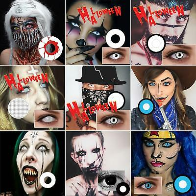 Eye Color Contacts Lenses Halloween Party Cosplay Vampire Colored Lens Piacevole