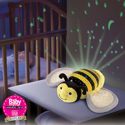 New Summer Infant Betty The Bee Slumber Buddies Nightlight Projector