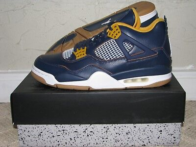 afa3017dfd01 NIKE AIR JORDAN 4 IV Retro Dunk From Above Navy Men s Size 10 DS NEW!  308497-425 -  189.99