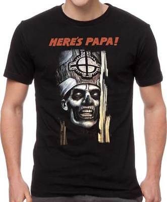 Ghost Here's Papa The Shining Heavy Death Metal Music Band T Shirt GOS10141