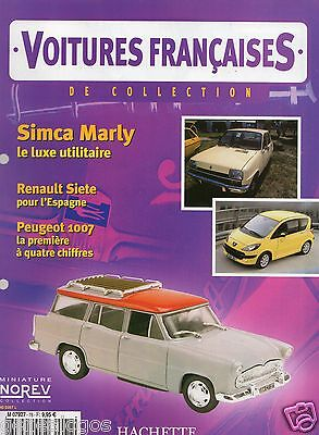 Voitures Francaises Hachette Fascicule N°78 Simca Marly Sm Rallye  A110 1007 R5