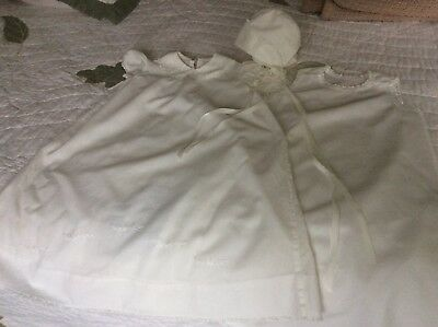 Vintage Baby Christening/Baptismal Gown (3 pc.)