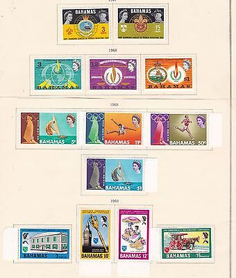 BAHAMAS^^^^ 1967-68    x10  better  MINT     SETS   $$  @ f8863xxbbaha