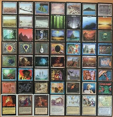 MTG Magic The Gathering 50 Card Lot / mythic, foil, rare, uncommon, common. Old+