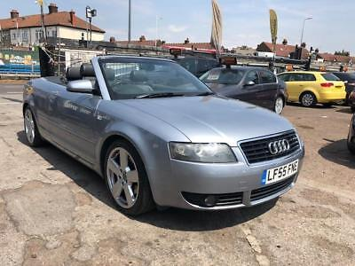 2006 Audi A4 Convertible Cabriolet 18t S Line Full Leather Seats
