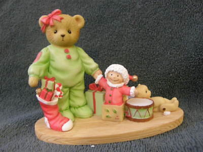 Cherished Teddies JAN 4047382 There's Magic In Christmas Morning  NEW