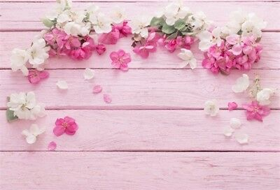 Pink Wood Board Plank 7x5ft Studio Background Photography Photo Backdrop Vinyl