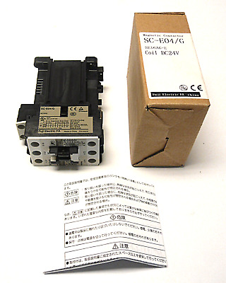 New In Box Fuji Electric Sc-E04/G Magnetic Contactor 24Vdc Coil