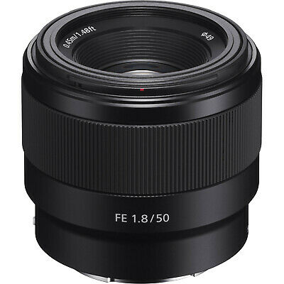 Sony Alpha E-Mount FE 50mm f/1.8 F1.8 Prime Lens