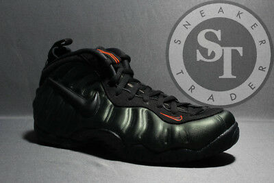 Nike Air Foamposite Pro 624041-304 Sequoia Black Orange Ds Size: 10