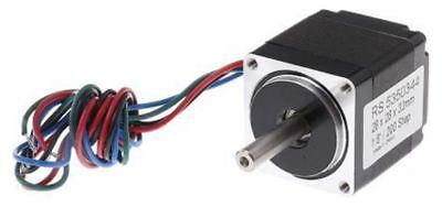 Rs pro Hybrid, Permanent Magnet Schrittmotor 1.8°, 60mNm, 3.8 V, 670 Ma, 4 Wir