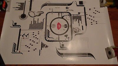 RARE Christina Aguilera Bionic Tour poster Fan Club Limited