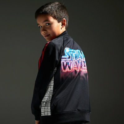$13 Off NWT Disney Store Star Wars Force in Training Track Jacket Boys szs 4 -10