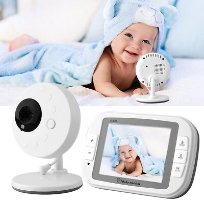 3.5″ TFT LCD Video Wireless Baby Monitor RF Night Vision Security Camera View
