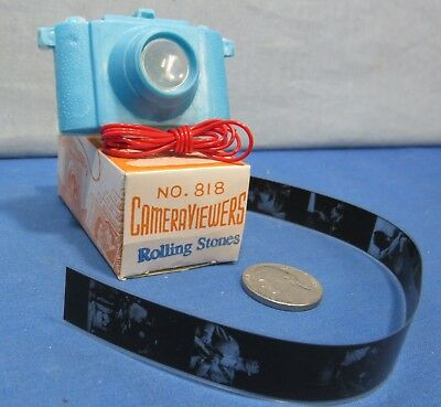 Rolling Stones Viewer Camera ~ 1960's Novelty