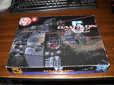 Babylon 5 Wars Core Boxed Set: Unpunched Counters b