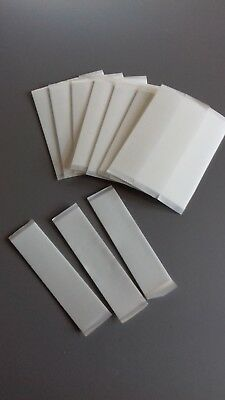 ***** 10 x Number Plate Double Adhesive Sided Sticky Pads - HEAVY DUTY *****