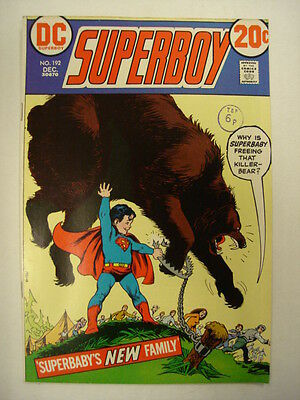 Superboy #192 Fn (6.0) Dc Comics Superbaby