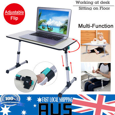 Upgrade Portable Adjustable Laptop Desk Foldable Table Stand PC TV Bed Tray Home