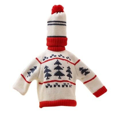 Christmas Knit Sweater Wine A Variety Of Styles Of Multi-Color Bottle Sets  TL