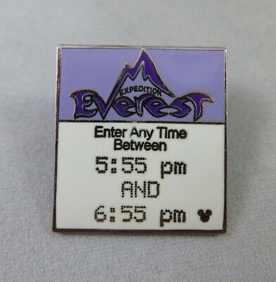 Disney WDW Pin - Hidden Mickey 2007 Series 2 Fast Pass Series Expedition Everest