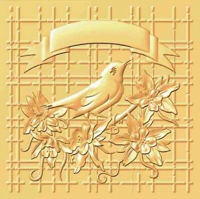 Nellie/'s Choice Embossing Folder HSF018 Little Girl With Bird 106 x 150mm