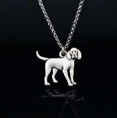 Cartoon Bloodhound Pendant Necklace ANIMAL RESCUE DONATION