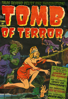 Chamber Of Chills Witches Tales Tomb Of Terror. Horror Comics Collection On Dvd