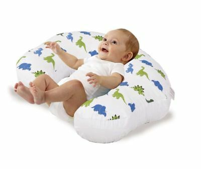 Love2Sleep BABY FEEDING PILLOW FOR COMPLETE SUPPORT: BLUE AND GREEN DINOS