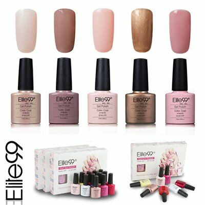 Elite99 Esmalte de Uñas Semipermanente Uñas de Gel UV LED  de Manicura Kit 024