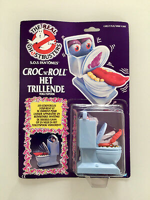 Ghostbusters 1984 Toilet Fearsome Flush Toiletspook Kenner OVP action figure NIB