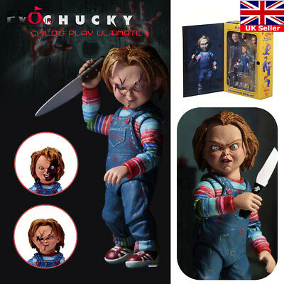 """NECA Chucky Good Guy Doll Child's Play Ultimate 4"""" Action Figure Toys"""