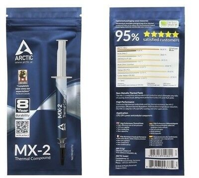 Arctic Cooling MX-2 4g Thermal Paste, Compound for PC XBOX 360 PS3 (2 PACK )