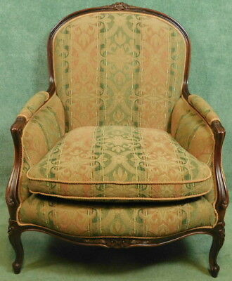 French Louis Xv Style Walnut Armchair