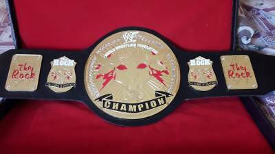 Wrestling Championship Belt The Rock Bull Leather Belt