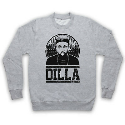 J Dilla Tribute American Rap Produce Hip Hop Unofficial Adults & Kids Sweatshirt