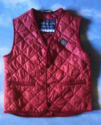 VEST gilet child  80's HENRI LLOYD  tg.JX circa 7/8 years made in England  RARE